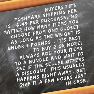 Buyers Tips!